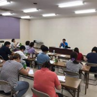言語聴覚士の長島が、日頃よりお世話になっている施設様へ研修会講師として招かれました。